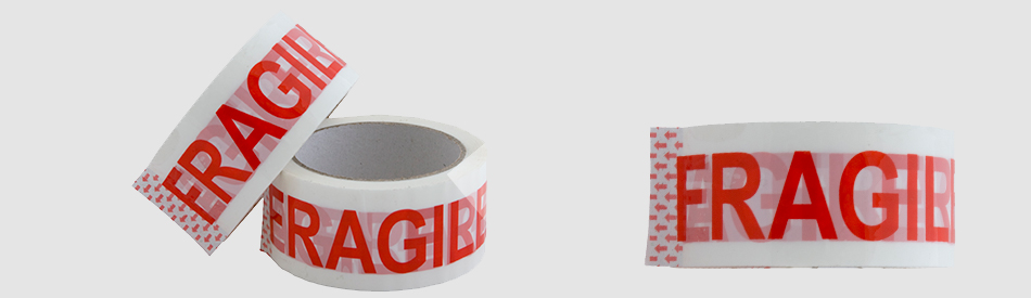 Products printed in narrow band